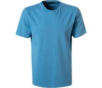 T-Shirt, Baumwolle, hell gestreift