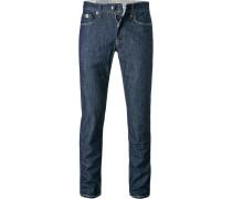 Jeans Karl, Slim Fit, Baumwolle, dunkel