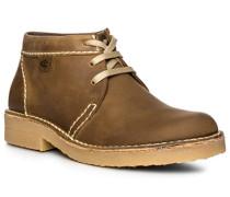 Schuhe Schnürboots, Leder, sand
