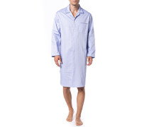 Nachthemd, Baumwolle,  gemustert