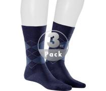 Socken, Baumwolle mercerisiert, navy