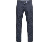 Jeans, Classic Fit, Baumwoll-Stretch, marine