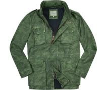 Fieldjacket, Baumwolle, camouflage