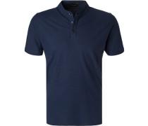 Polo-Shirt, Baumwoll-Jersey, navy