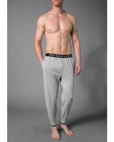 Pyjamahose, Baumwolle, hell meliert