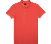 Polo-Shirt, Baumwoll-Piqué, koralle