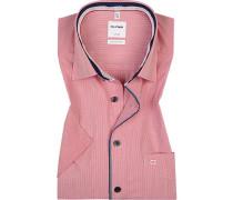 Hemd, Comfort Fit, Baumwolle, -weiß gesteift