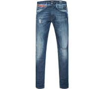 Jeans, Slim Fit, Baumwoll-Stretch 12oz, jeans