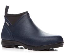 Schuhe Gummistiefelette, Naturkautschuk, marine