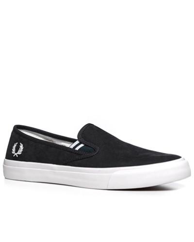 Schuhe Slip Ons, Baumwolle, navy