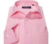 Hemd, Modern Fit, Popeline, rosa