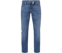 Jeans,Slim Fit, Baumwoll-Stretch