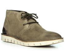 Schuhe Desert Boots, Veloursleder, schilf