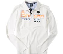 Polo-Shirt, Piqué, off white