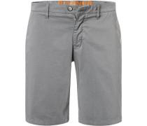 Hose Shorts, Baumwolle, stein