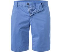 Hose Shorts, Baumwolle, tauben