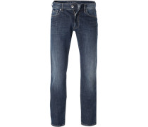 Jeans, Straight Fit, Baumwoll-Stretch, jeans