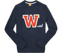 Sweatshirt, Baumwolle, rauch meliert