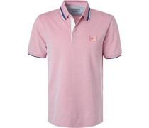 Polo-Shirt, Baumwoll-Piqué,  meliert
