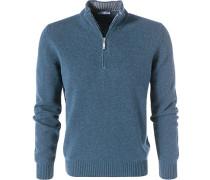 Pullover Troyer, Schurwolle-Kaschmir