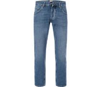 Jeans Michigan Straight, Regular Fit, Baumwolle