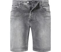 Jeansshorts, Tapered Fit, Baumwoll-Stretch HYPERFLEX STRETCH DENIM 11,5oz