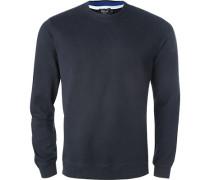 Sweatshirt, Baumwolle, navy