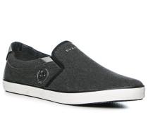Schuhe Slip Ons, Textil,  meliert