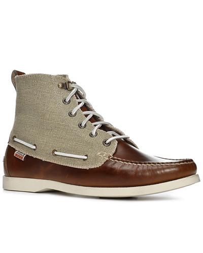 Aigle Herren Schuhe América Mid Cvs, natural, Canvas