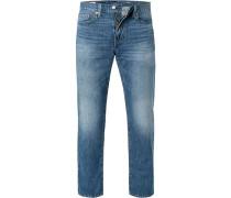 Jeans 514 Straight Fit Baumwolle mittel