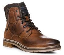 Schuhe Boots, Leder warmgefüttert, mittel
