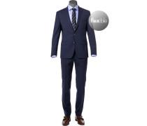 Anzug, Slim Fit, Schurwoll-Stretch wasserabweisend