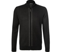 Zip-Cardigan, Wolle