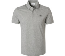 Polo-Shirt, Regular Fit, Baumwoll-Piqué,  meliert