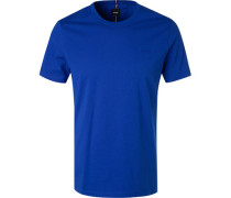 T-Shirt, Baumwolle, royal