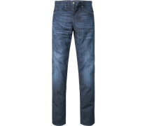 Jeans, Slim Fit, Baumwoll-Stretch, denim