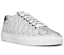 Schuhe Sneaker, Leder,  gemustert