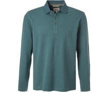 Polo-Shirt, Baumwoll-Piqué, see