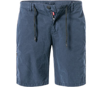 Hose Shorts, Modern Fit, Baumwolle, navy