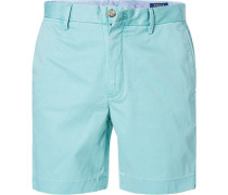 Hose Bermudashorts, Straight Fit, Baumwolle, mint