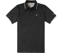 Polo-Shirt, DryComfort®, schwarz