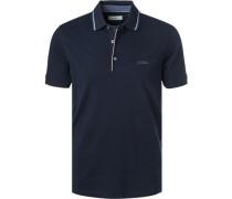 Polo-Shirt, Baumwoll-Piqué, nacht