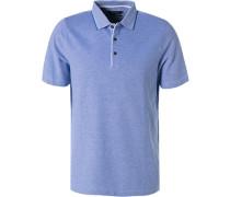 Polo-Shirt, Baumwoll-Piqué, flieder