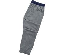 Pyjamahose, Baumwolle,  meliert