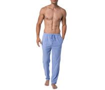 Schlafanzug Pants, Baumwolle, hell