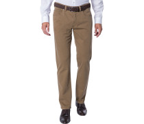 Jeans, Regular Fit, Baumwoll-Stretch, hell