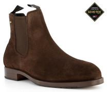 Schuhe Chelsea Boots, Veloursleder GORE-TEX