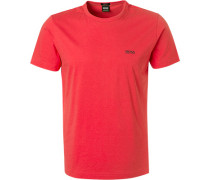 T-Shirt, Regular Fit, Baumwolle, koralle