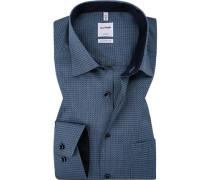 Hemd, Comfort Fit, Baumwolle, rauch