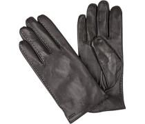 Handschuhe, Lammleder, -braun